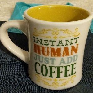 Cracker Barrel mug Instant Human